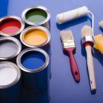 Фарба для стеклообоев – вибираємо кращу і використовуємо з трафаретами і без