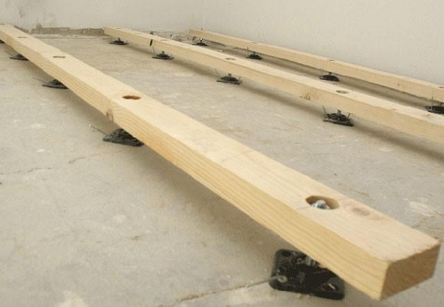 Правильная укладка ОСБ листов на деревянный или бетонный пол