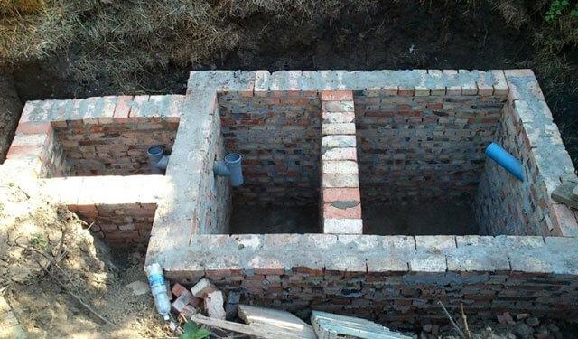 Вигрібна яма своїми руками - варіанти конструкцій, способи будівництва